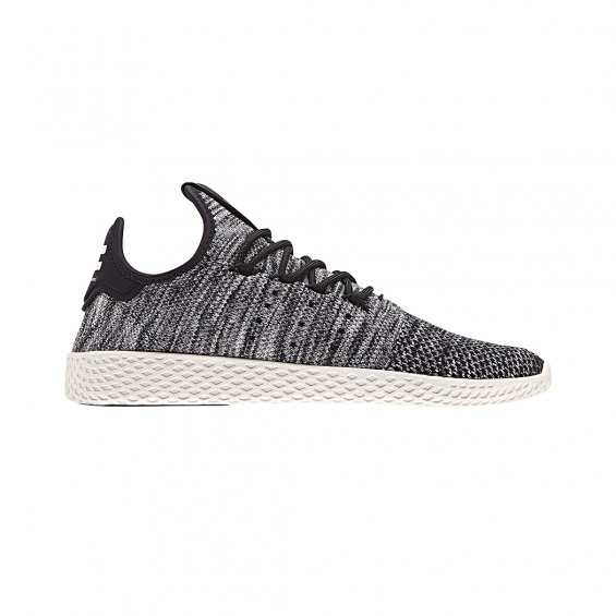 Adidas Originals PW Tennis HU PK Shoes, Core White Core Black