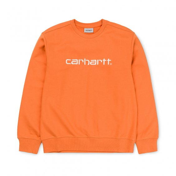 Carhartt Sweat, Jaffa Wax