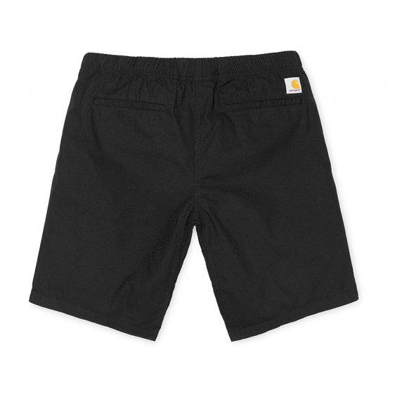 Carhartt Colton Clip Short, Black Stone Washed
