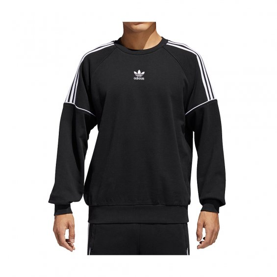 Pipe Adidas White Originals SweatBlack Crew 80XNnOkwP
