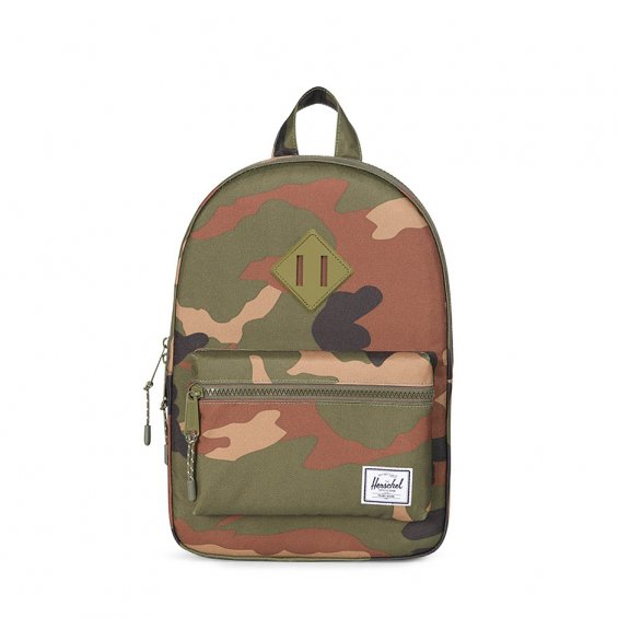 Herschel Supply Heritage Kids, Woodland Camo