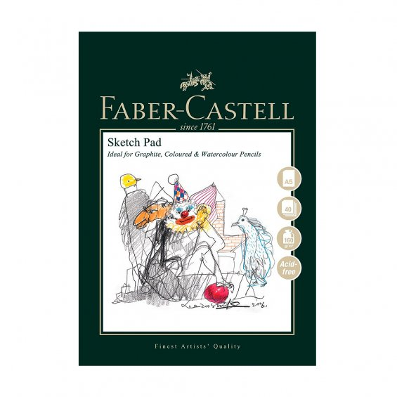 Faber-Castell Art & Graphic Sketch Pad, A5