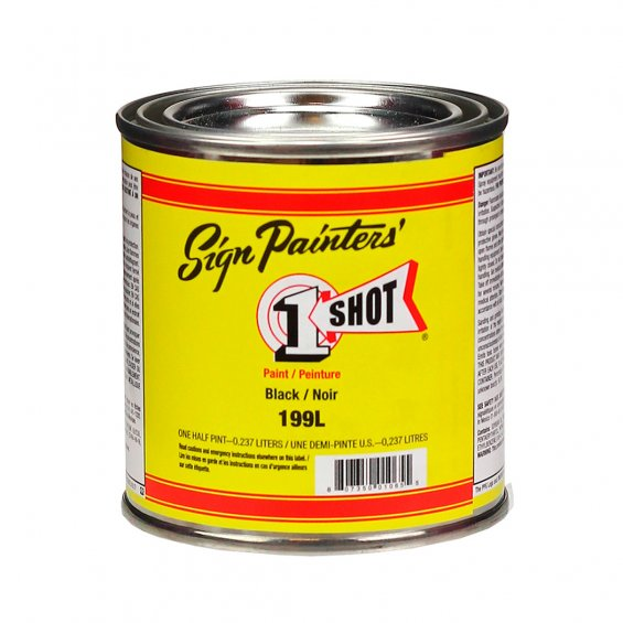 1-Shot Signwriting Enamel 236ml, Gloss