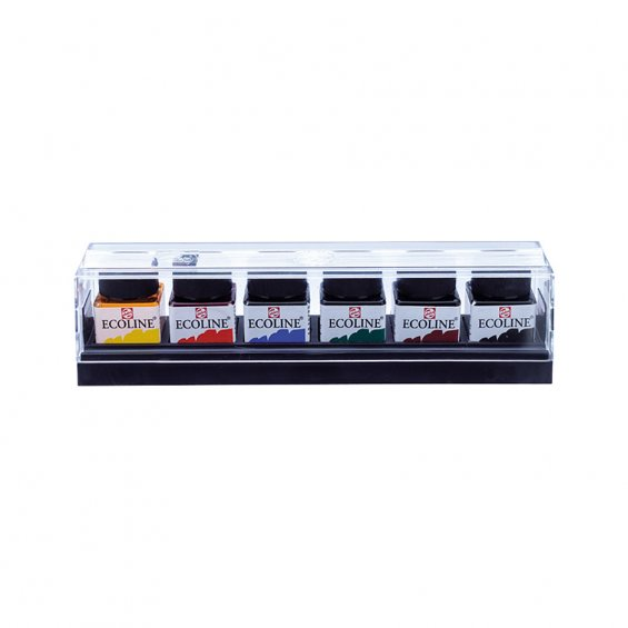 Talens Ecoline Water Color 30ml, Set 6