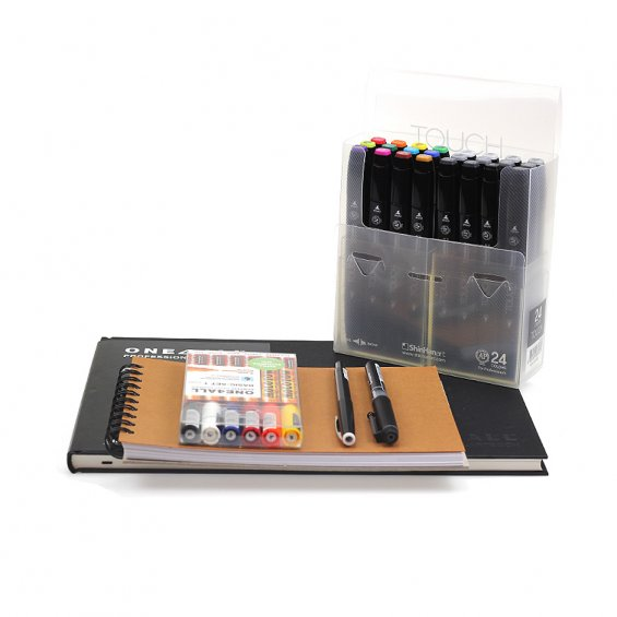 Highlights Touch Sketch Pack, Medium