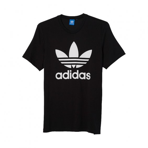Adidas Originals trefoil tee, Black