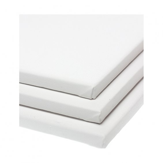 Canvas Stretched F10 55x46 cm - 3 Pack
