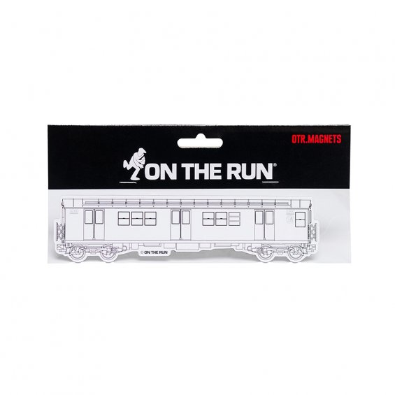 OTR.Magnet NYC Subway White, Small