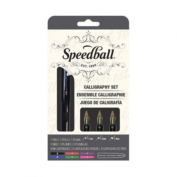 Speedball Calligraphy Fountain Pen Set