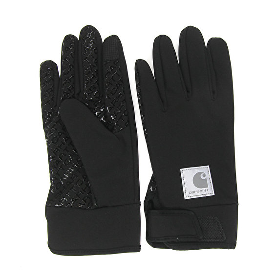 Carhartt Softshell Gloves, Black