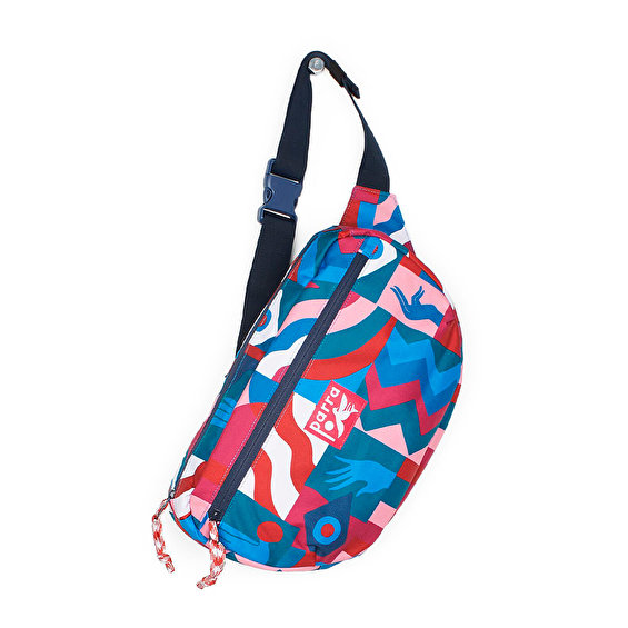 Parra grab the flag waist bag, Multi