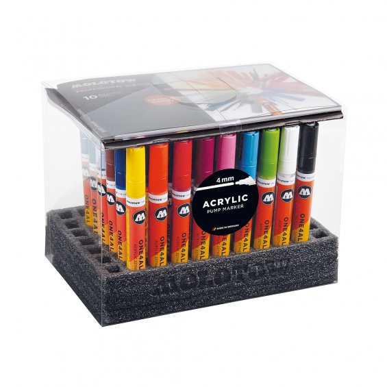 Molotow ONE4ALL 227HS Display Set Complete