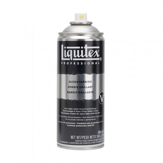 Liquitex Spray 400ml Gloss Varnish