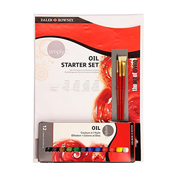Daler Rowney Oil Starter set 16 pcs