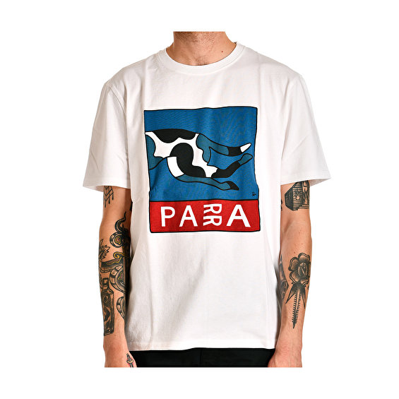 Parra escaping you t-shirt, White