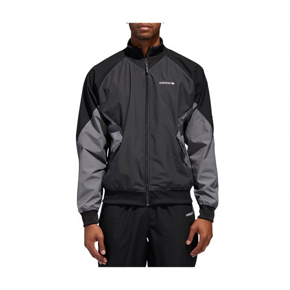 check out 1f451 d11c1 Adidas EQT Woven Ripstop Jacket, Carbon - Hlstore.com   Highlights