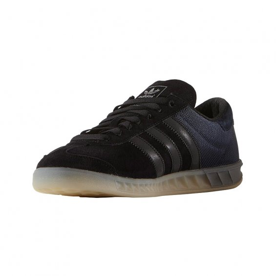 Adidas Hamburg Tech ( S75505 ), Black Blue