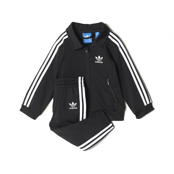 Adidas Kids Firebird Track Suit, Black