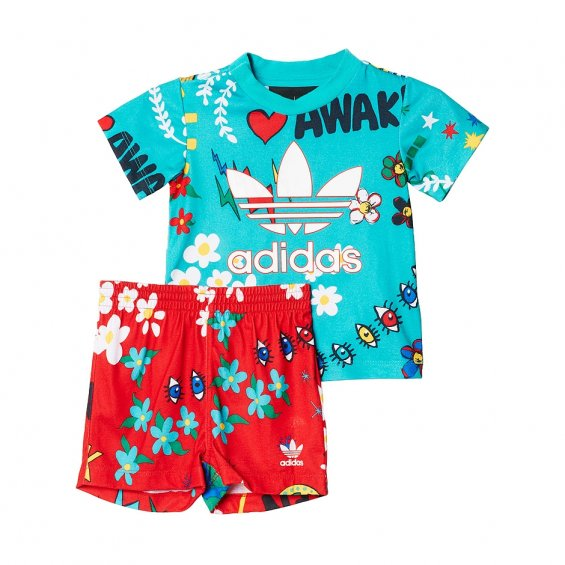Adidas Kids I Pharrell Set, Sh Green