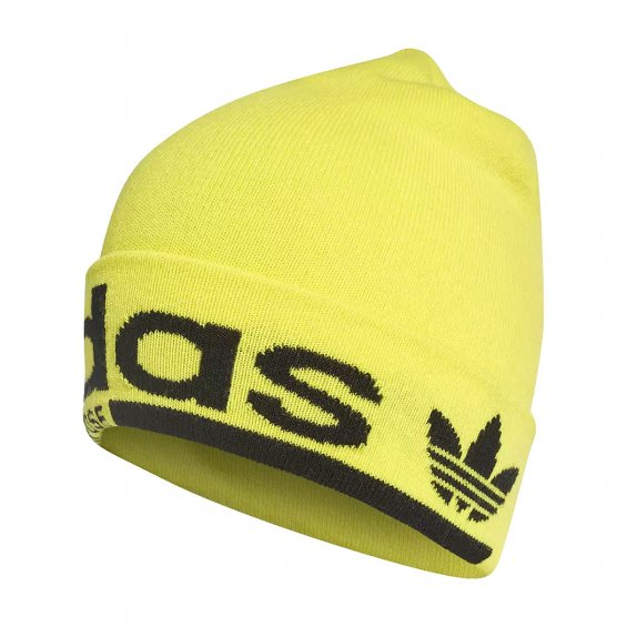 Adidas Originals Beanie, Shock Yellow