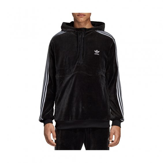 Adidas Originals Cozy Halfzip, Black
