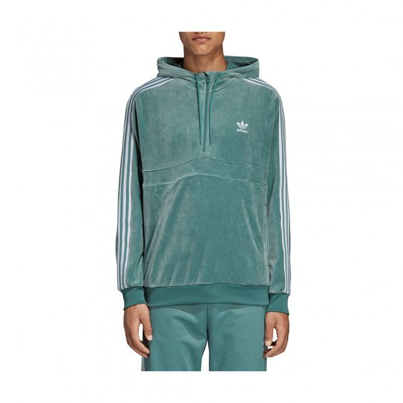 Adidas Originals Cozy Halfzip, Vapour Steel