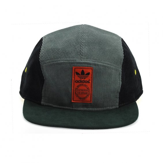 Adidas Running FB Cap 5-Panel, Stone Green Orange Corduroy