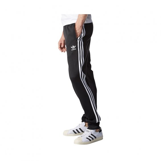 Adidas Originals SST cuffed track Pants, Black