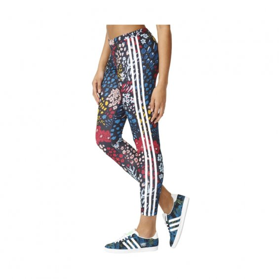 Adidas W 3-Stripes Leggings, Multi