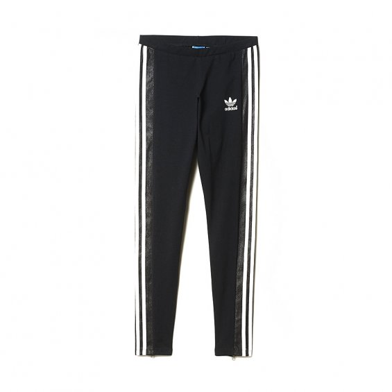 171e2b0c6d0 Adidas W Deluxe 3-Stripes Leggings, Black | Highlights