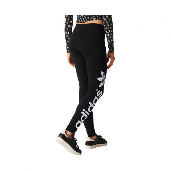 Adidas W Linear Leggings, Black White