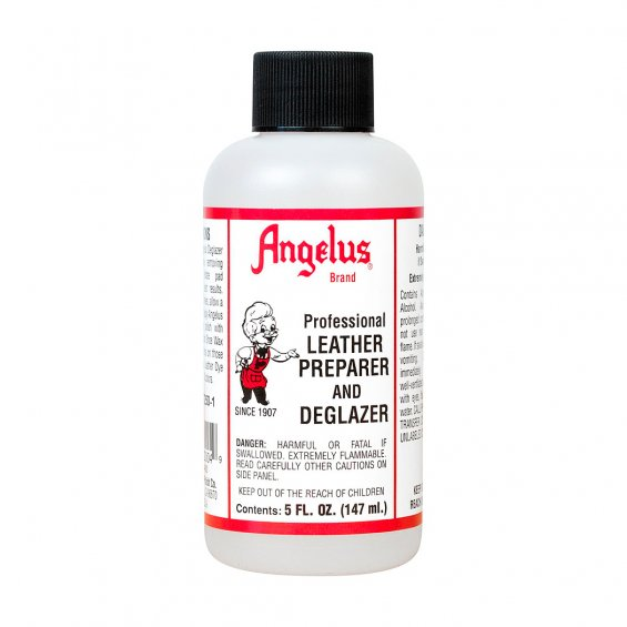 Angelus Leather Preparer & Deglazer, 147ml