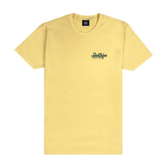 Belief Rose Tee, Squash