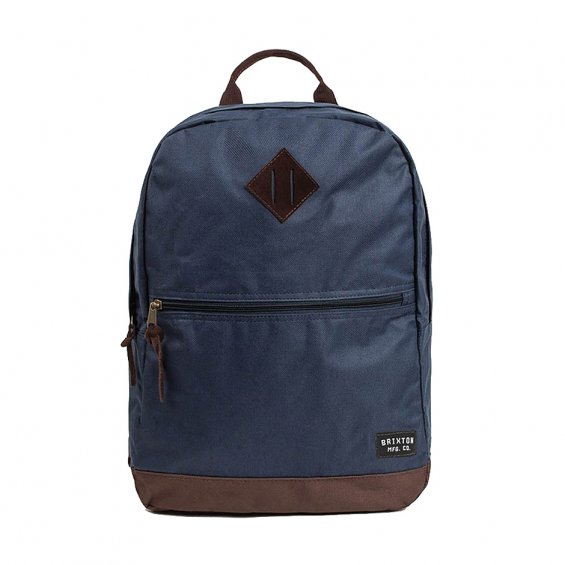 Brixton Carson Backpack, Slate Blue