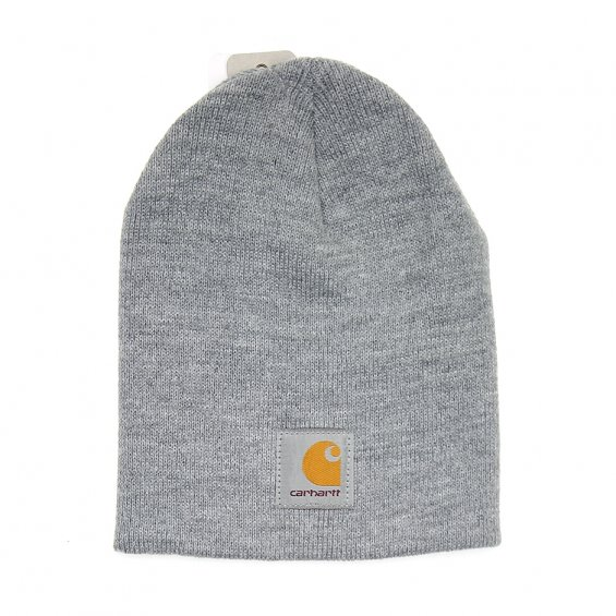 Carhartt Acrylic Knit Hat, Heather Gray