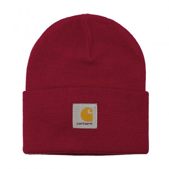 Carhartt Acrylic Watch Hat, Blast red