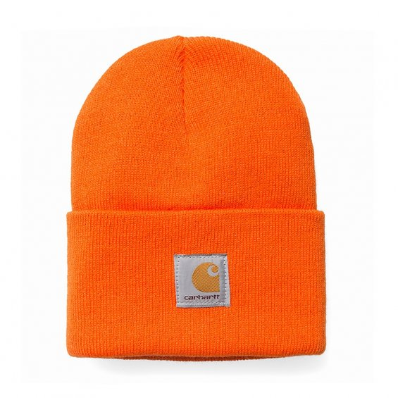 Carhartt Acrylic Watch Hat, Carhartt Orange