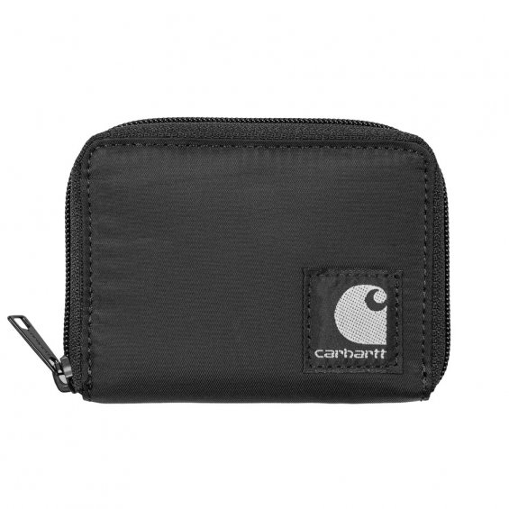 Carhartt Atkinson Wallet, Black Nylon
