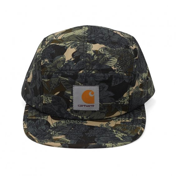 Carhartt Backley 5-Panel Cap, Camo Rose