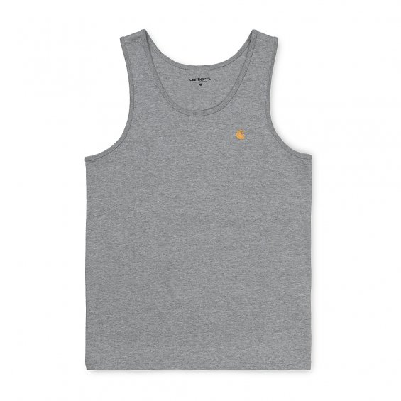 Carhartt Chase A-Shirt Tank Top, Grey Heather Gold