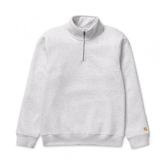 Carhartt Chase Highneck Sweat, Ash Heather