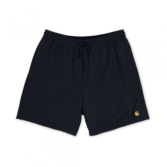 Carhartt Chase Swim Trunk, Black Gold