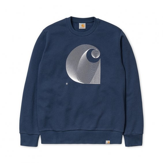 Carhartt Dimension Sweat, Blue White
