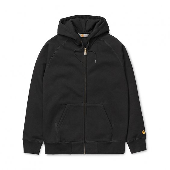 Carhartt Hooded Chase Jacket, Black