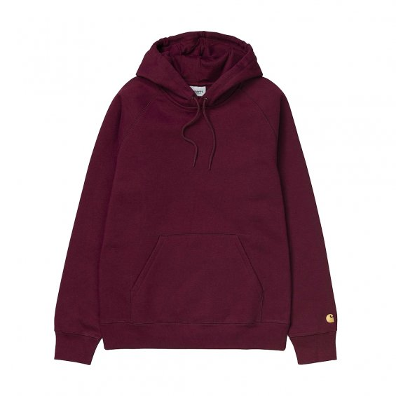 Carhartt Hooded Chase Sweat, Cranberry Gold
