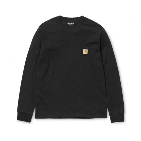 Carhartt LS Pocket tee, Black