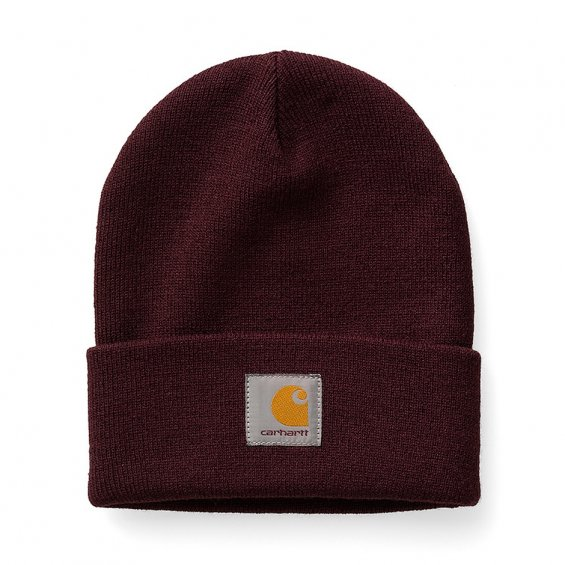 Carhartt Short Watch Hat, Damson