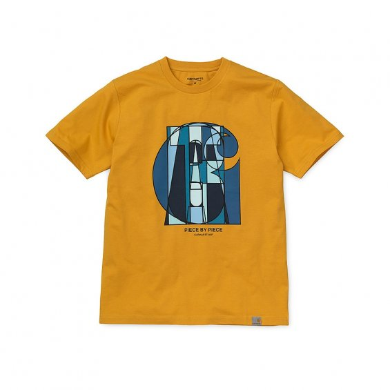 Carhartt SS Pieces T-Shirt, Oro