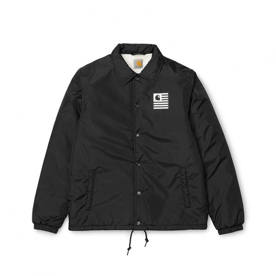 Carhartt State Pile Coach Jacket, Black