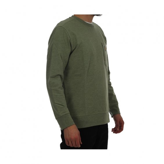 Carhartt State Sweat, Pale Olive Heather